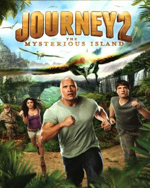 Journey 2 The Mysterious Island poster