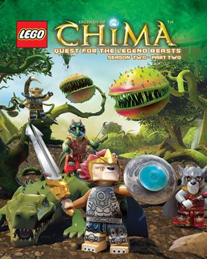 Buy LEGO Legends of Chima - Quest for the Legend Beasts Season 2 Volume 2 DVD online