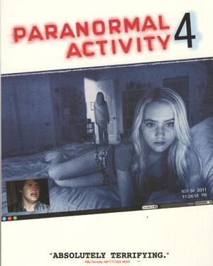 Paranormal Activity 4 BluRay
