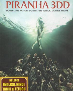 Piranha 3DD BluRay