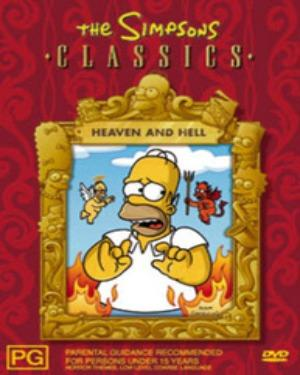 Buy English Movie Simpsons Heaven And Hell Vcd