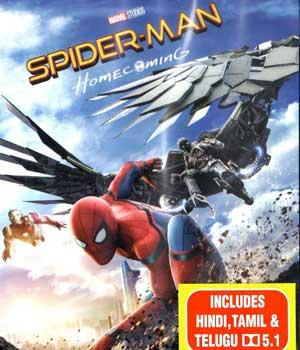 SPIDER-MAN HOME COMING BluRay