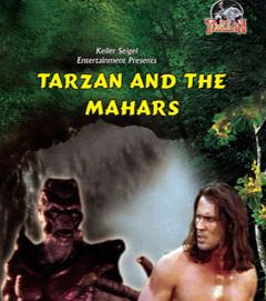 TARZAN AND THE MAHORS poster