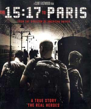 The 15:17 to Paris BluRay
