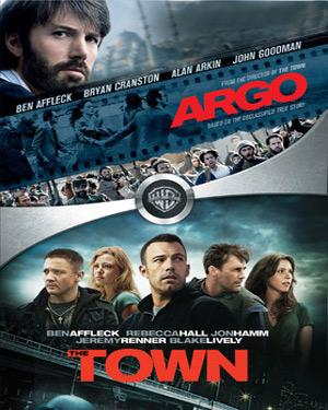 The Town And Argo poster