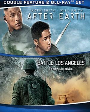 After Earth and Battle Los Angeles poster