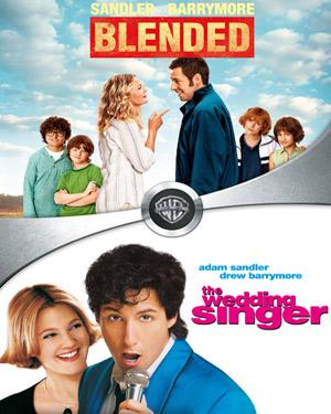 Blended And The Wedding Singer poster