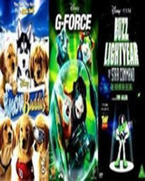 Buy G Force Buzz Lightyear Star Command Snow Buddies Dvd Online