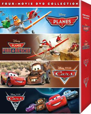 Cars-Cars 2-Planes & Planes Fire & Rescue poster