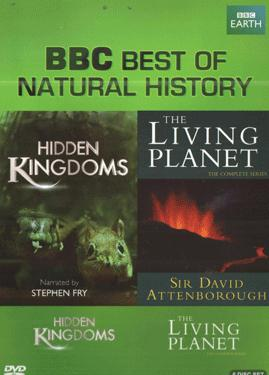 BBC BEST OF NATURAL HISTORY DVD SET poster