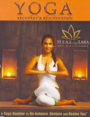 HEAL With Lara - Yoga - Recovery & Rejuvenation poster