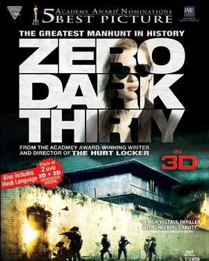 Zero Dark Thirty 3D poster