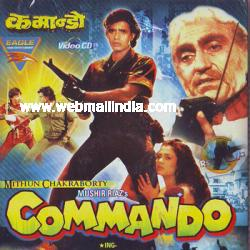 Commando (1988) SL YT - Mithun Chakraborty, Mandakini, Amrish Puri and Hemant Birje
