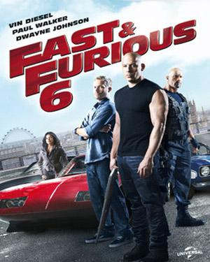 Fast & Furious 6 (Hindi) poster