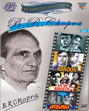 Platinum Collection B.R. Chopra Set-1(Naya Daur-Kanoon-Ek-Hi-Raasta-Afsana) poster