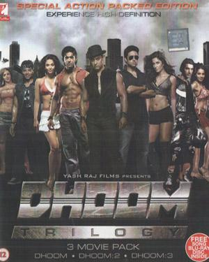 Dhoom Trilogy   3 Movie Pack poster