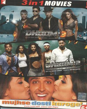 DHOOM3-DHOOM2-MDK poster