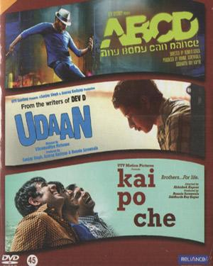 3 IN 1  ABCD ANY BODY CAN DANCE - UDAAN - KAI PO CHE poster