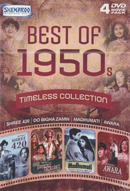 BEST OF 1950s  - TIMELESS COLLECTION  4 DVD MOVIE PACK poster