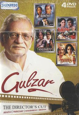 GULZAR-THE DIRECTOR'S  (Aandhi - Parichay - Khushboo - Meera) poster