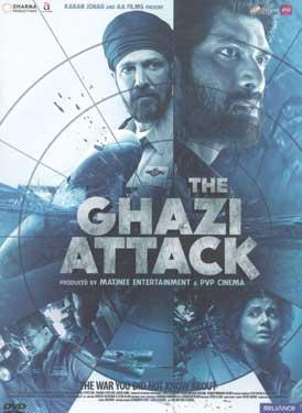 THE GHAZI ATTACK BluRay