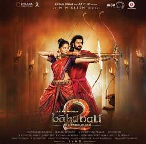 BAHUBALI 2 THE CONCLUSION poster