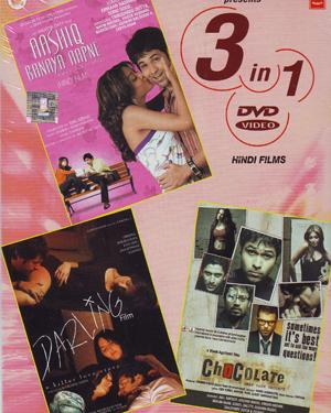 Aashiq Banaya Aapne - Darling - Chocolate - 3 in 1 DVD  movie