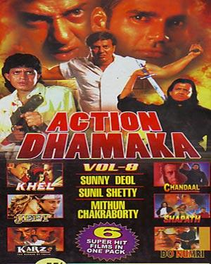 ACTION DHAMAKA  -  (VOL 8)  movie