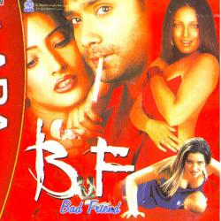 B F BAD FRIEND poster