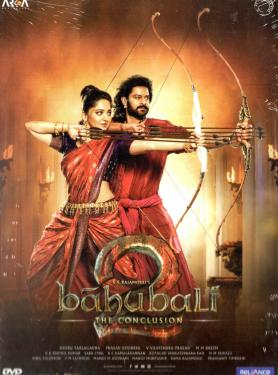 BAHUBALI 2 THE CONCLUSION DVD