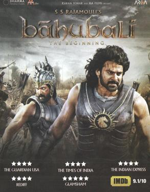 Bahubali - The Beginning (Hindi) poster