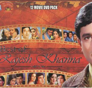 Best Of Rajesh Khanna(12 movie DVD Pack)  movie