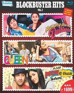 Blockbuster Hits Vol.2 (Humpty Sharma Ki Dulhania - Queen - Ajab Prem Ki Ghazab Kahani)  movie