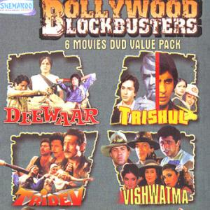 BOLLYWOOD DLOCKBUSTERS 6 Movie DVD Value Pack poster