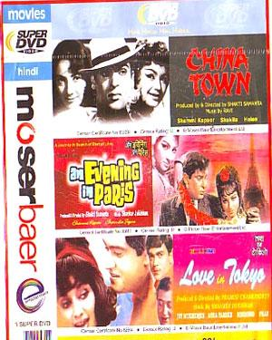 CHINA TOWN - AN EVENING IN PARIS - LOVE IN TOKYO - 3 in 1 DVD  movie