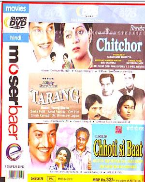 CHITCHOR - TARANG - CHHOTI SI BAAT - 3 in 1 DVD  movie