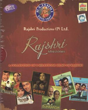 Collectors Edition  RAJSHRI MILESTONES   Pack of 6 Super Hit Movies  movie