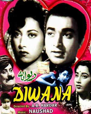 DIWANA (Black & white)  movie