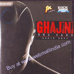 GHAJINI - THE GAME - AAMIR KHAN poster