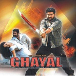 GHAYAL (THE FIGHTER MAN) poster