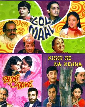 GOL MAAL - BIWI-O-BIWI - KISI SE NA KEHNA - 3 in 1 DVD  movie