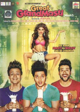 Great Grand Masti DVD