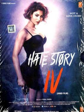 HATE STORY 4 DVD