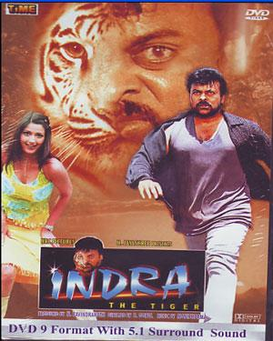 INDRA - THE TIGER poster  Indra The Tiger Actor