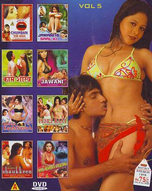 KAMAL ADULT COMBO - 8 HOT MOVIES IN 1 DVD - VOL-5 DVD