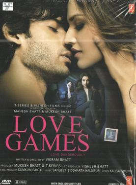 Love Games DVD