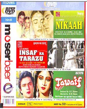 NIKAAH - INSAF KA TARAZU - TAWAIF - 3 in 1 DVD