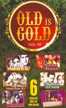 OLD IS GOLD - (VOL-10) poster