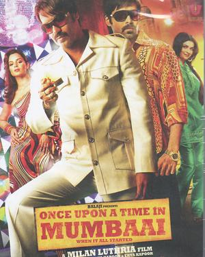 ONCE UPON A TIME IN MUMBAAI  movie