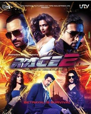Race 2 BluRay